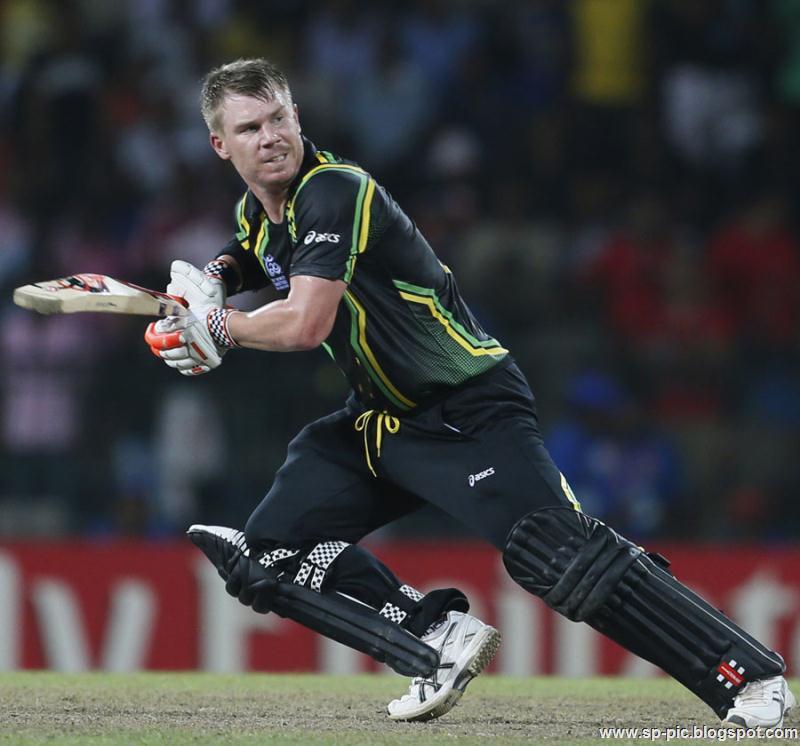 Australian Cricketer David Warner - 60.1KB