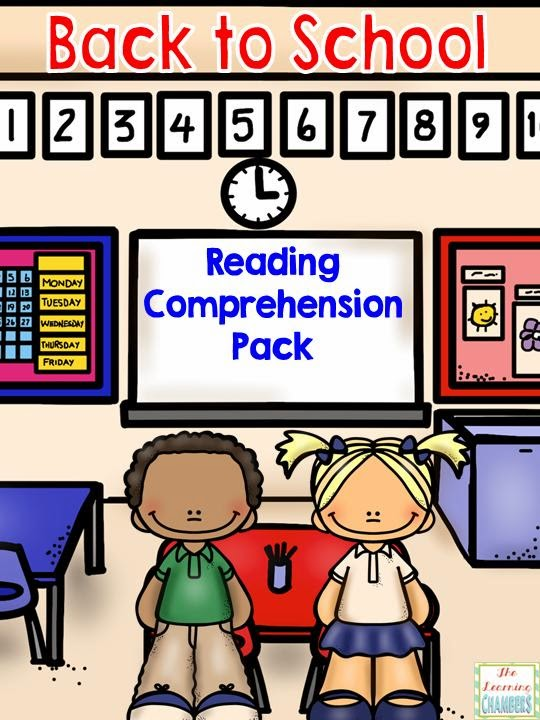 http://www.teacherspayteachers.com/Product/Back-to-School-Reading-Comprehension-Pack-1371007