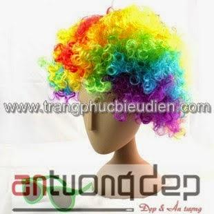 bán tóc chú hề giá rẻ