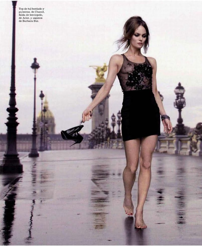 Vanessa Paradis For Elle Spain April 2011