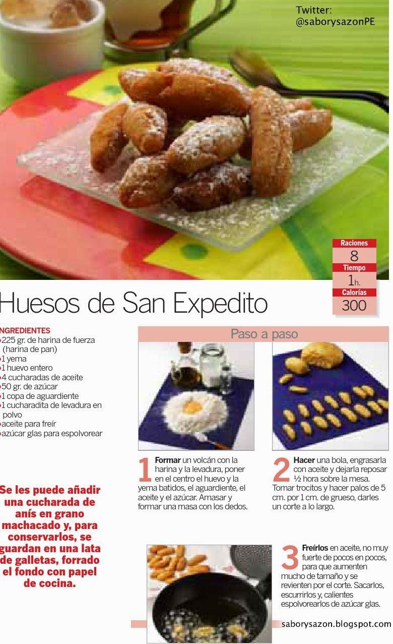 recipes - reposteria RECETA SENCILLA : HUESOS DE SAN EXPEDITO - UN CLASICO POSTRE ESPAÑOL