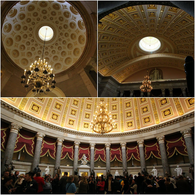 National Statuary Hall at United States Capitol in Washington DC, USA