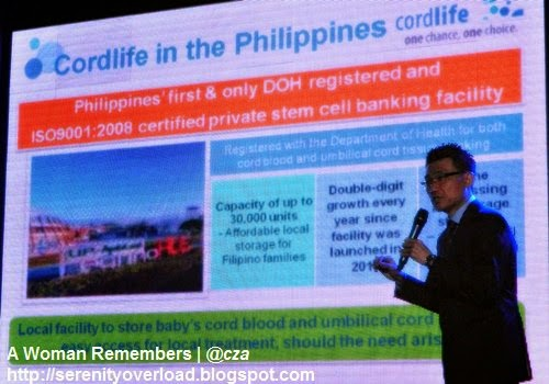 Cordlife Philippines, cord blood banking, stem cell, cord lining, facility launch