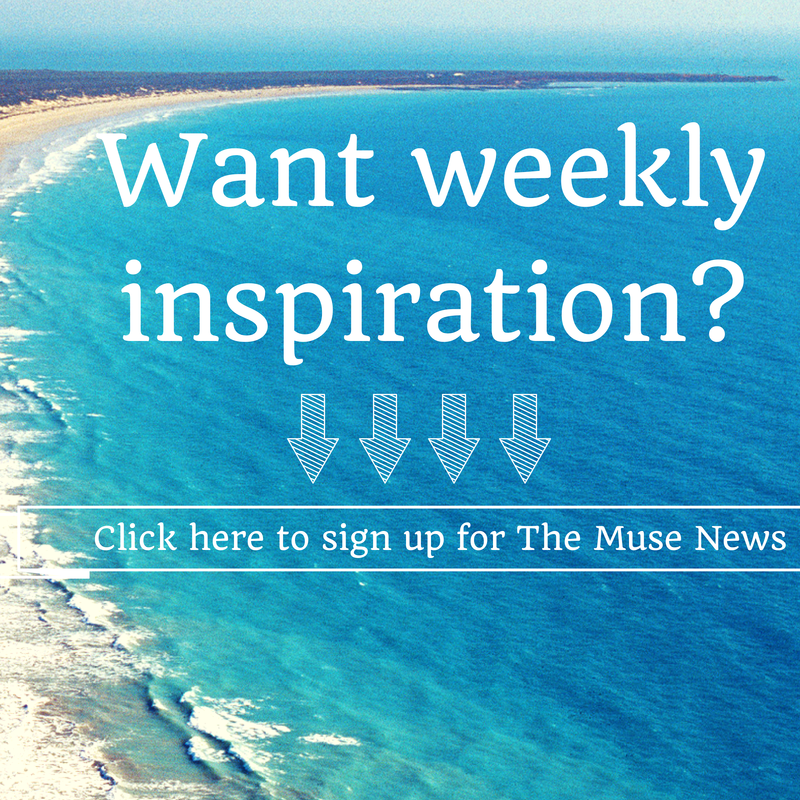 Get The Muse News - click to sign up for weekly inspiration.