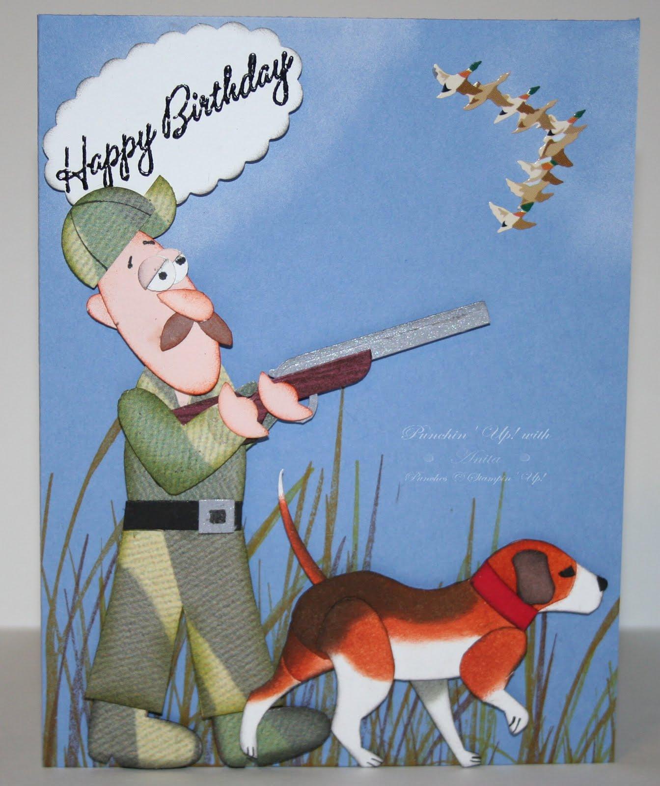 Hunting Birthday Cards gangcraftnet – Birthday Card Site
