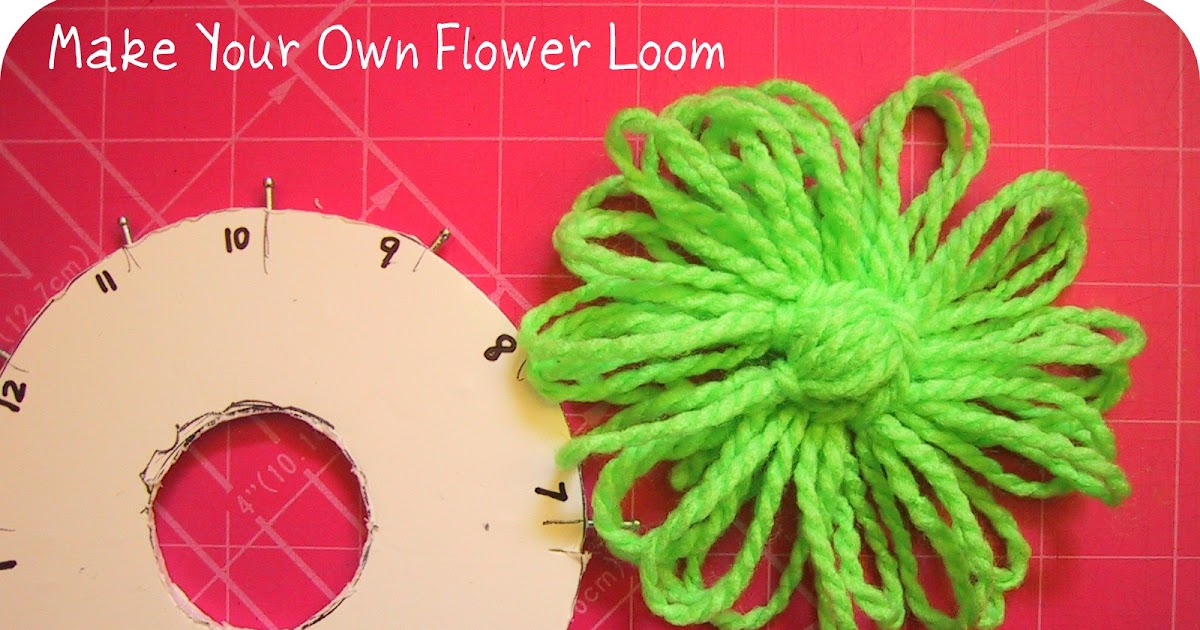 Happy As A Lark Make Your Own Flower Loom