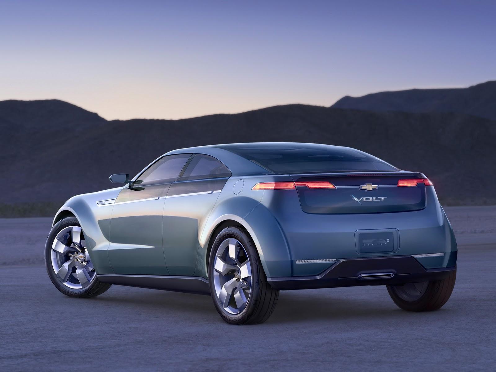 Chevrolet Volt Concept Hybrid Electric Car Automobile For Life