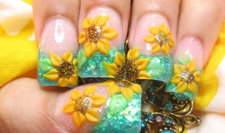The Cool Beautiful easy nail design 2015 Picture