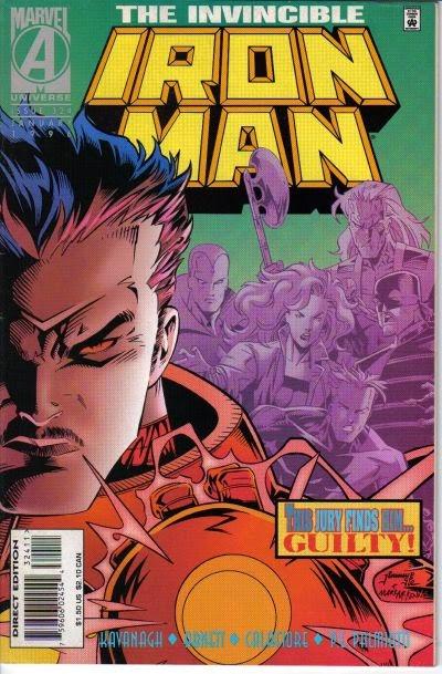 Iron Man 324 Cover Cheung