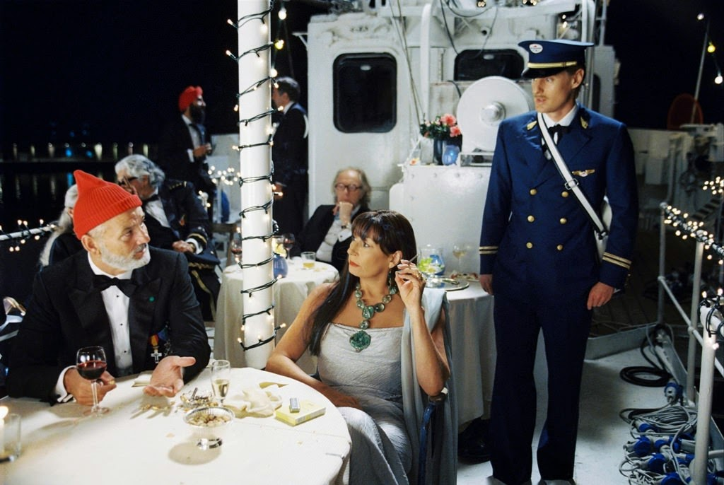 the life aquatic with steve zissou bill murray anjelica huston owen wilson