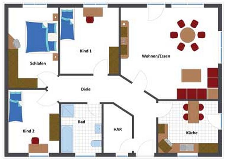 wir bauen einen fibav bungalow. Black Bedroom Furniture Sets. Home Design Ideas