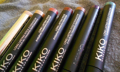 Ombretti in crema Kiko Long Lasting Stick Eyeshadows
