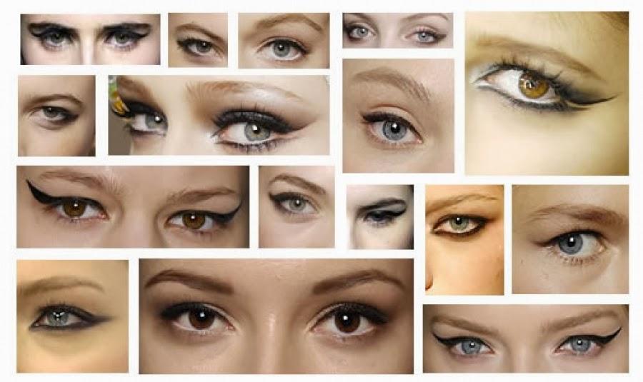 Как сделать стрелки чтобы сделать глаза больше
