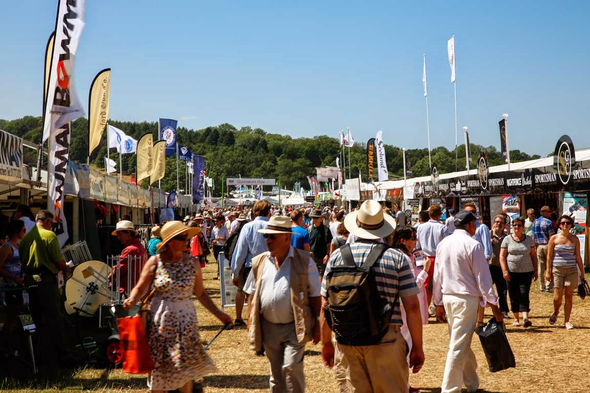 Country shopping at the CLA game fair
