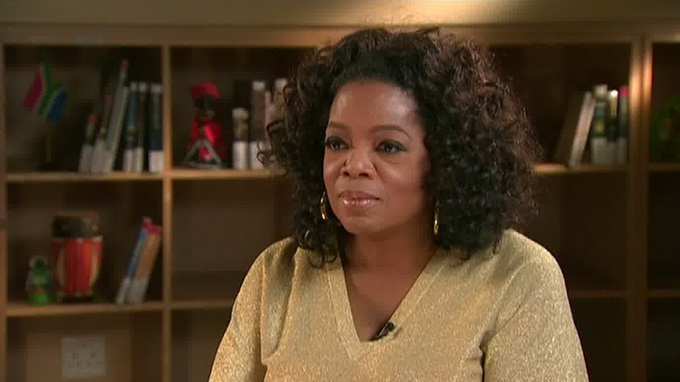 Oprah named the most powerful celebrity in the world