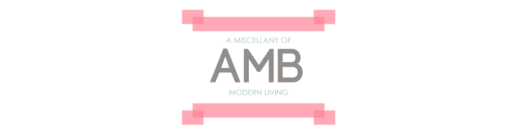 AMB | A miscellany of modern living - UK
