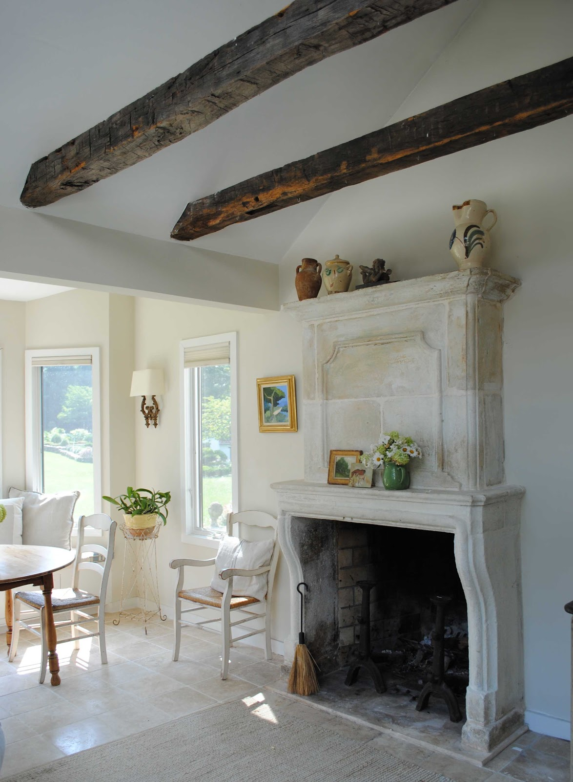 tone on tone a comfortable home enlivened with art