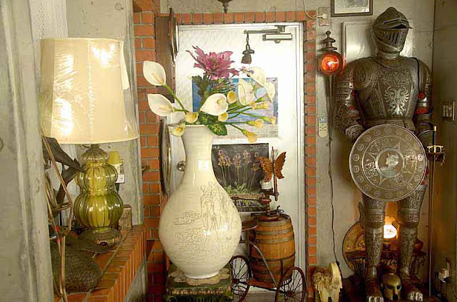 antiques, knight, armor,vases, art
