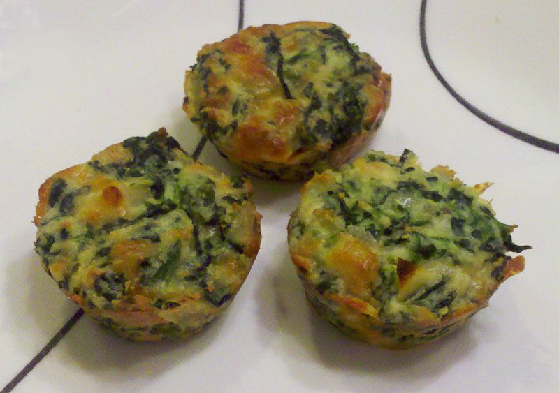 ... on my HCG weightloss journey: P3 Spinach Ricotta Bites from Weelicious