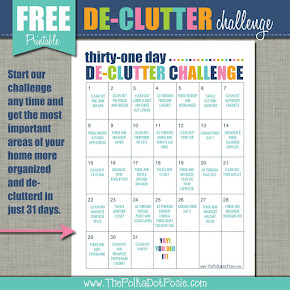 31 Day De-Clutter Challenge