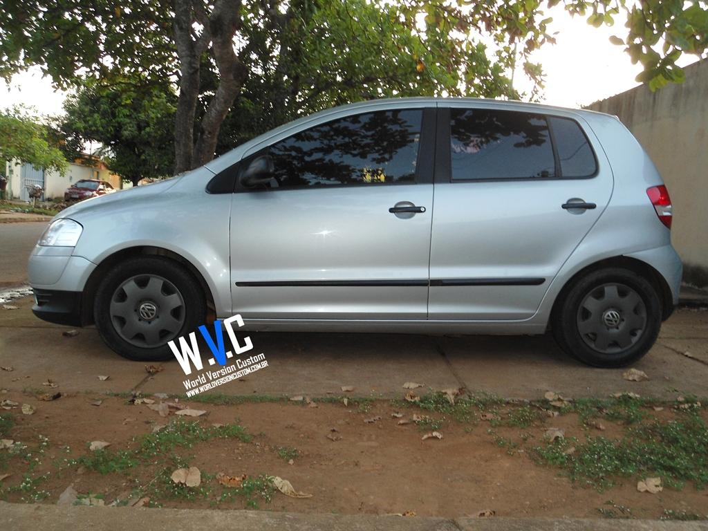 World Version Custom Carro Do Internauta Fox Rebaixado