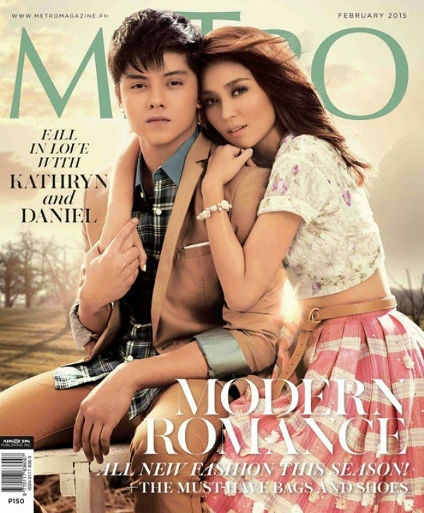Kathniel grace cover of magazines February 2015