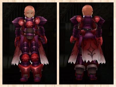 プレートアーマー重量化紫1+茶2+赤3