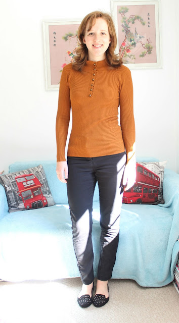 Primark Autumn Winter Haul Polo Neck Mustard Jumper 2015