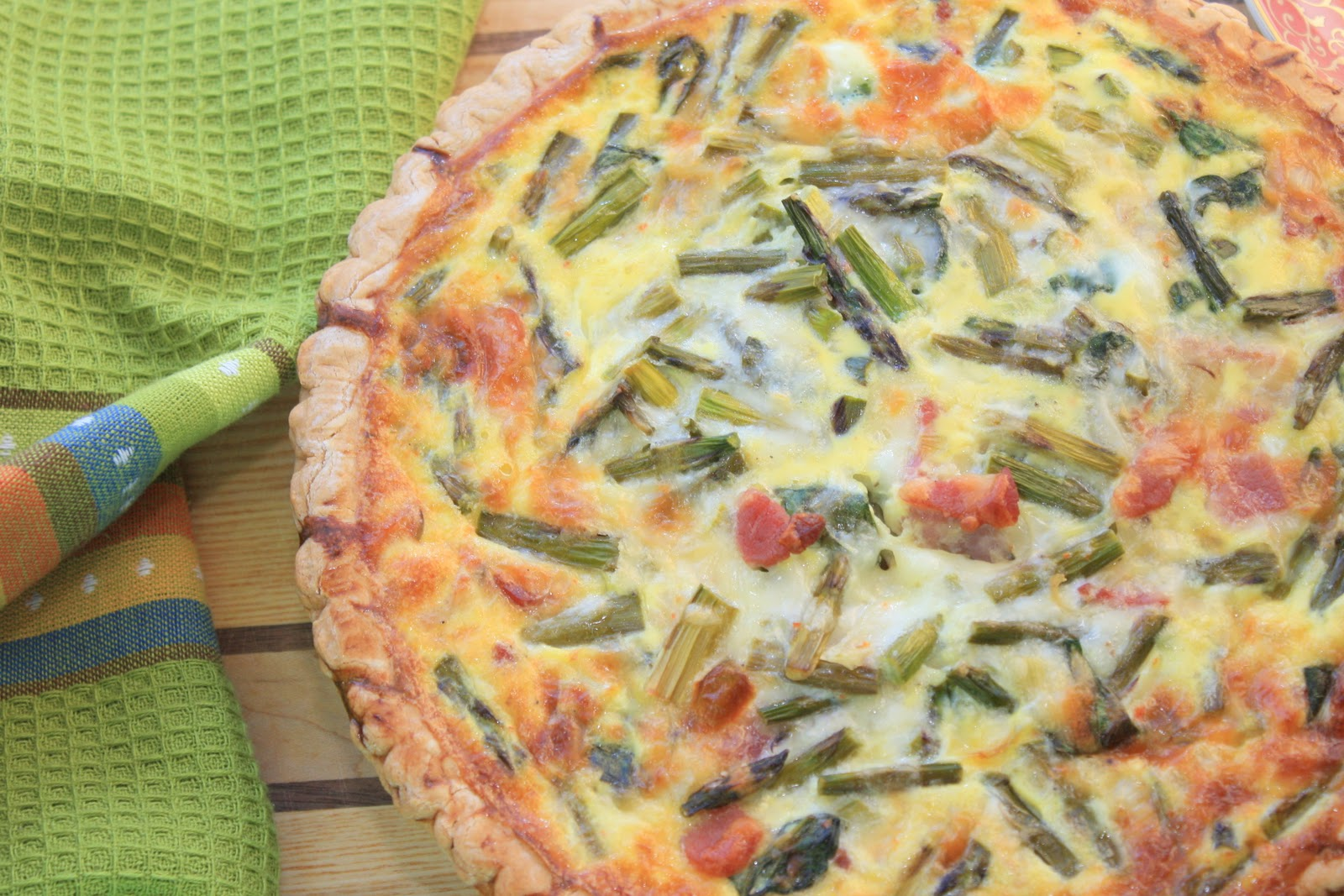 This is a fact: I haven't made a quiche in over a year.
