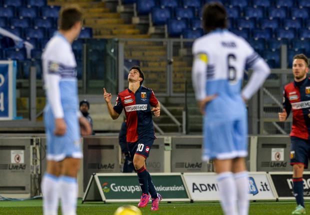 Liga Italia : Lazio 0-1 Genoa