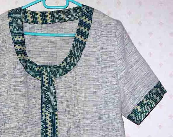 modèle couture pagne tisse