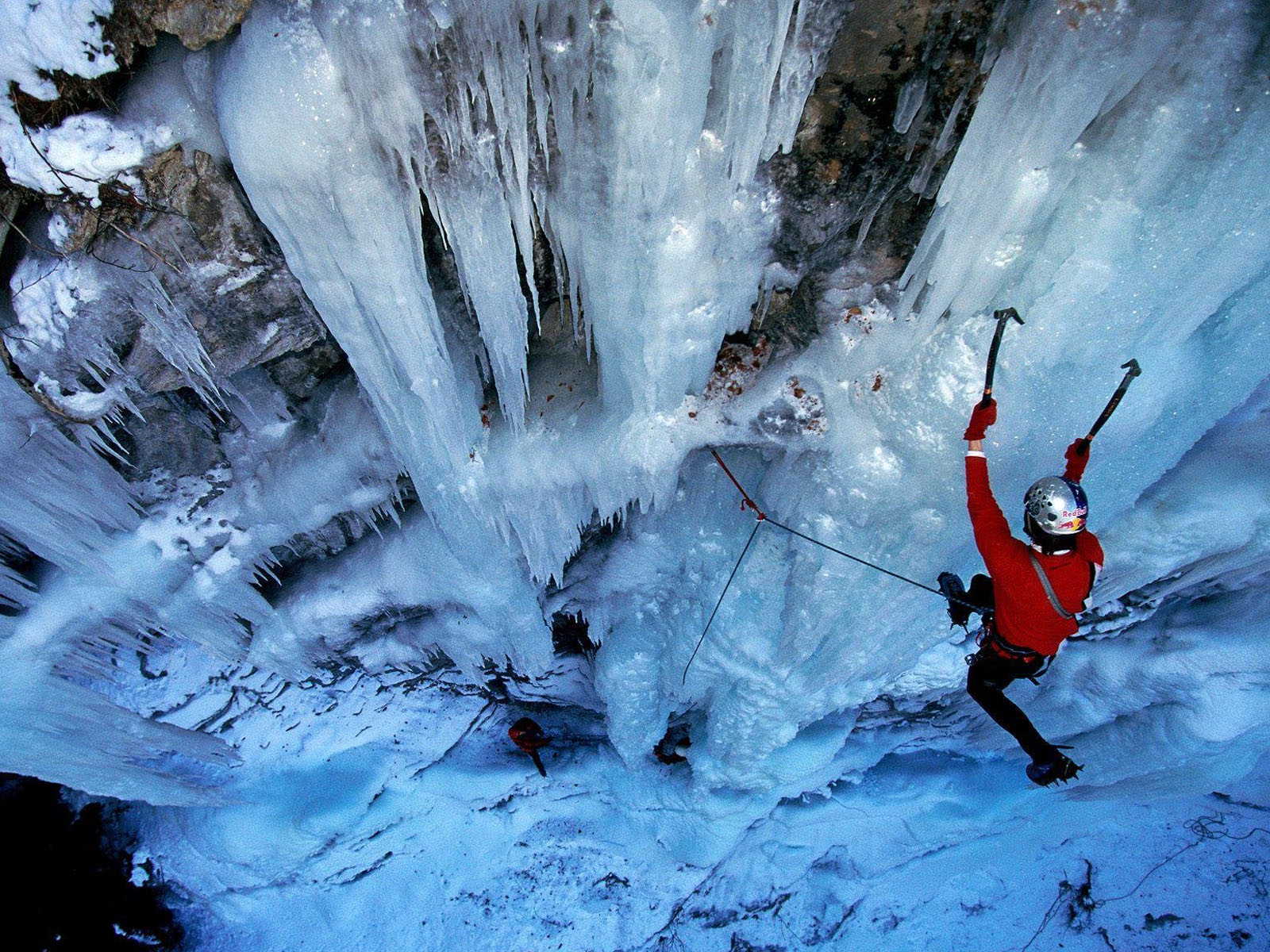 ice climbing wallpaper - photo #3