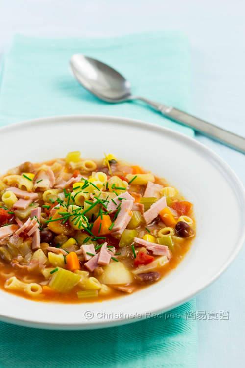 意式雜菜湯 【暖胃有營】Minestrone Soup