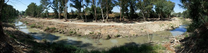 Vista de la ribera restaurada