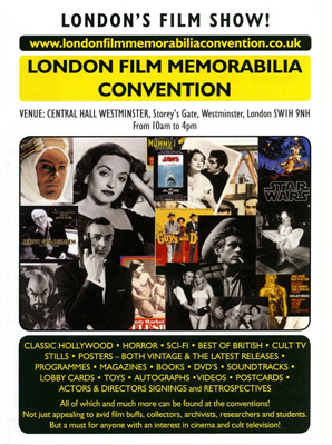 LONDON FILM MEMORABILIA CONVENTION