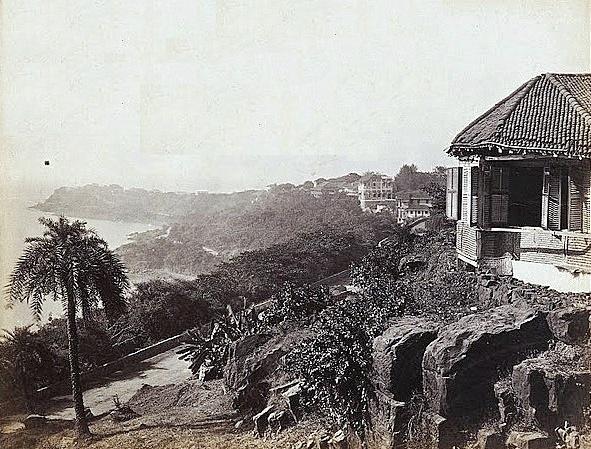 View from Malabar Hill, Mumabi 100 Years Ago