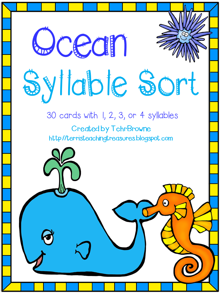 http://www.teacherspayteachers.com/Product/Ocean-Words-Syllable-Sort-1347269