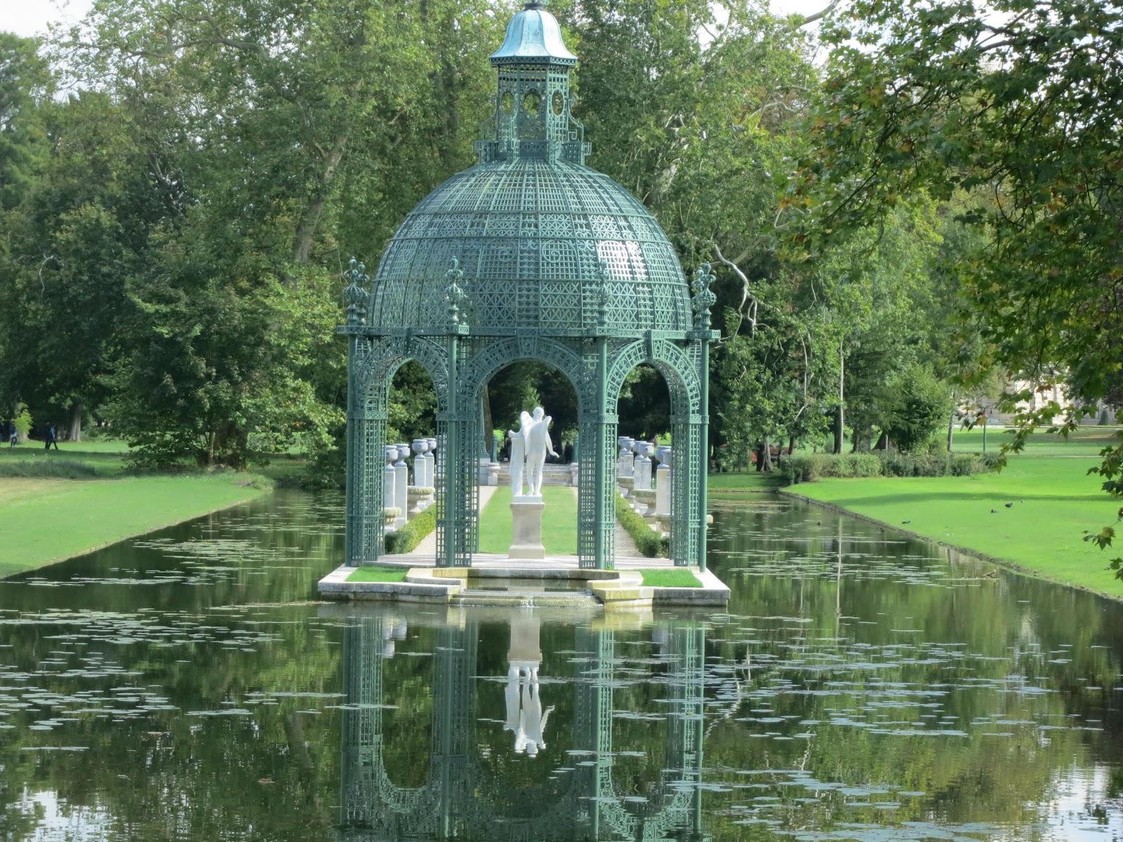 Le blog de parcs et jardins de l 39 oise le parc du chateau for Jardin romantique anglais