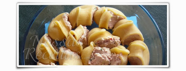 receita deliciosa de lumaconi recheado com frango