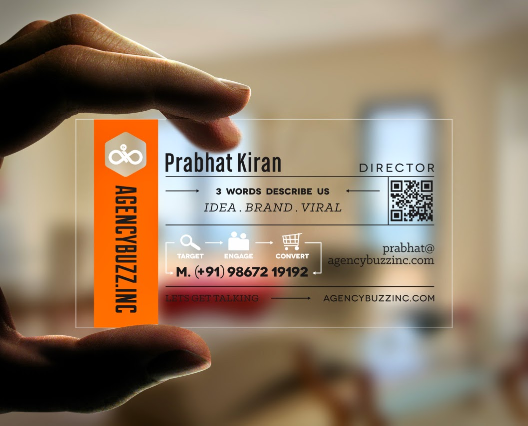 Kreative quest agencybuzzc this is my very first attempt at designing a transparent business card and luckily they are open to new ideas magicingreecefo Gallery