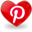 pinterest icon cocoflower