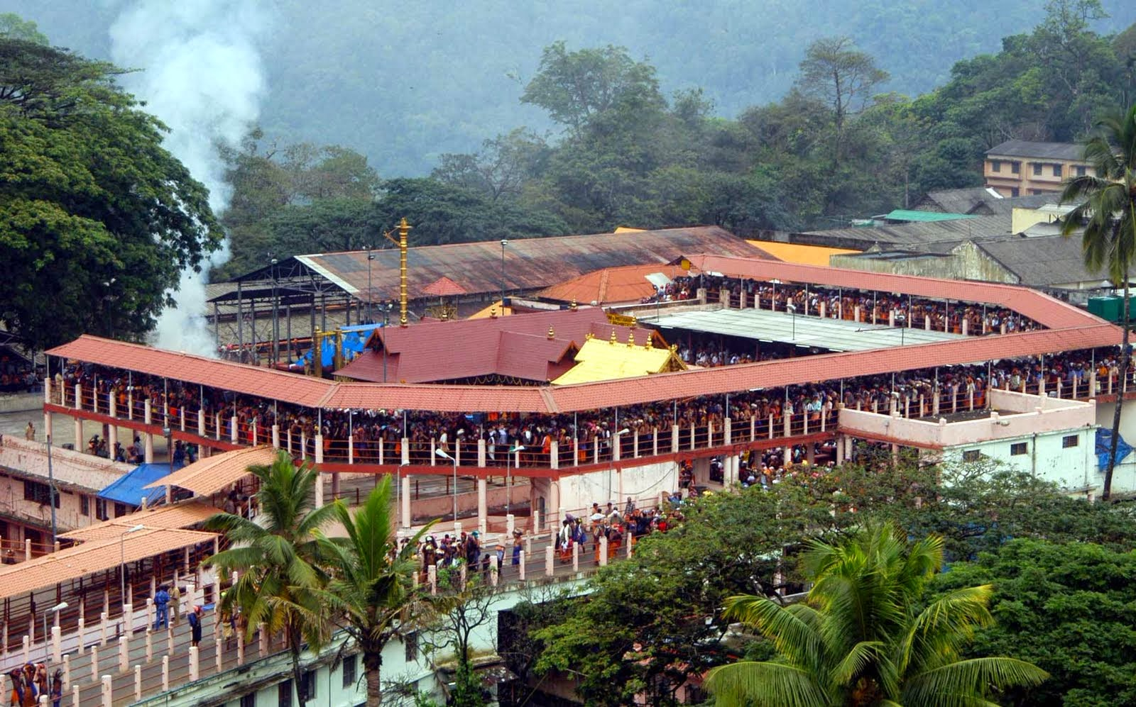 18 Hills of Sabarimala Ayyappa Temple