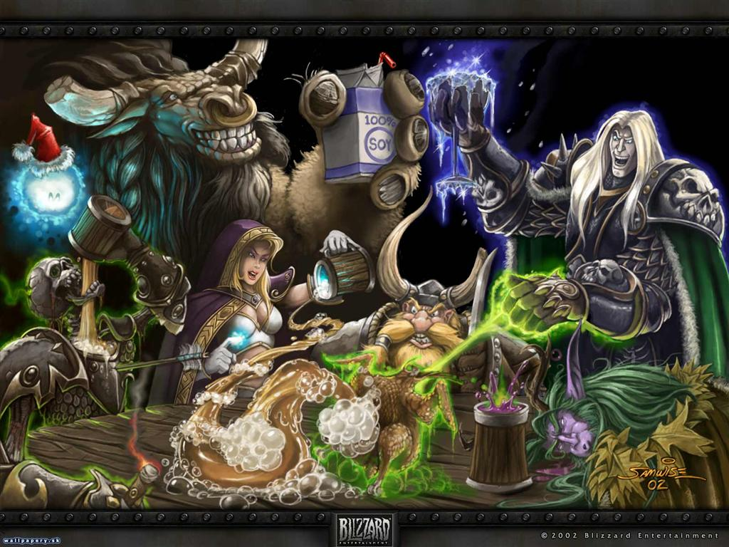 World of Warcraft HD & Widescreen Wallpaper 0.477474162143276