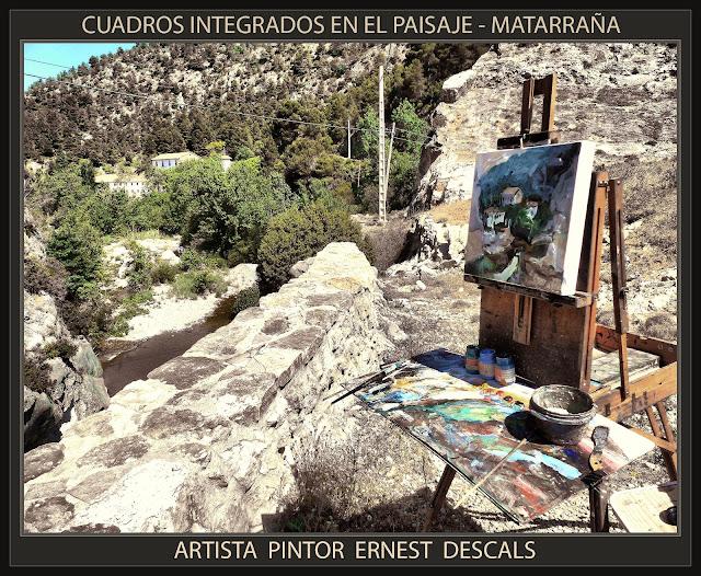 MATARRAÑA-BECEITE-MATARRANYA-CUADROS-PINTURA-PAISAJE-RIO-TERUEL-FOTOS-ARTISTA-PINTOR-ERNEST DESCALS-