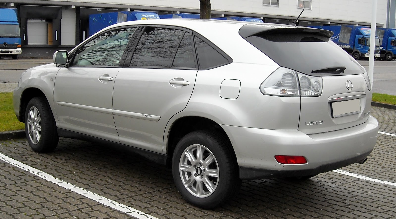 Car Model Lexus Rx 400h