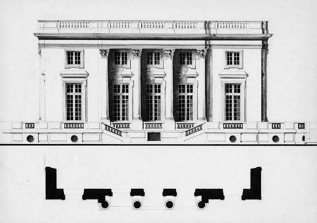 Mansion Floor Plans Le Petit Trianon Paris France