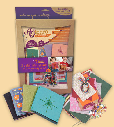 Mini bookmaking kit, giveaway image