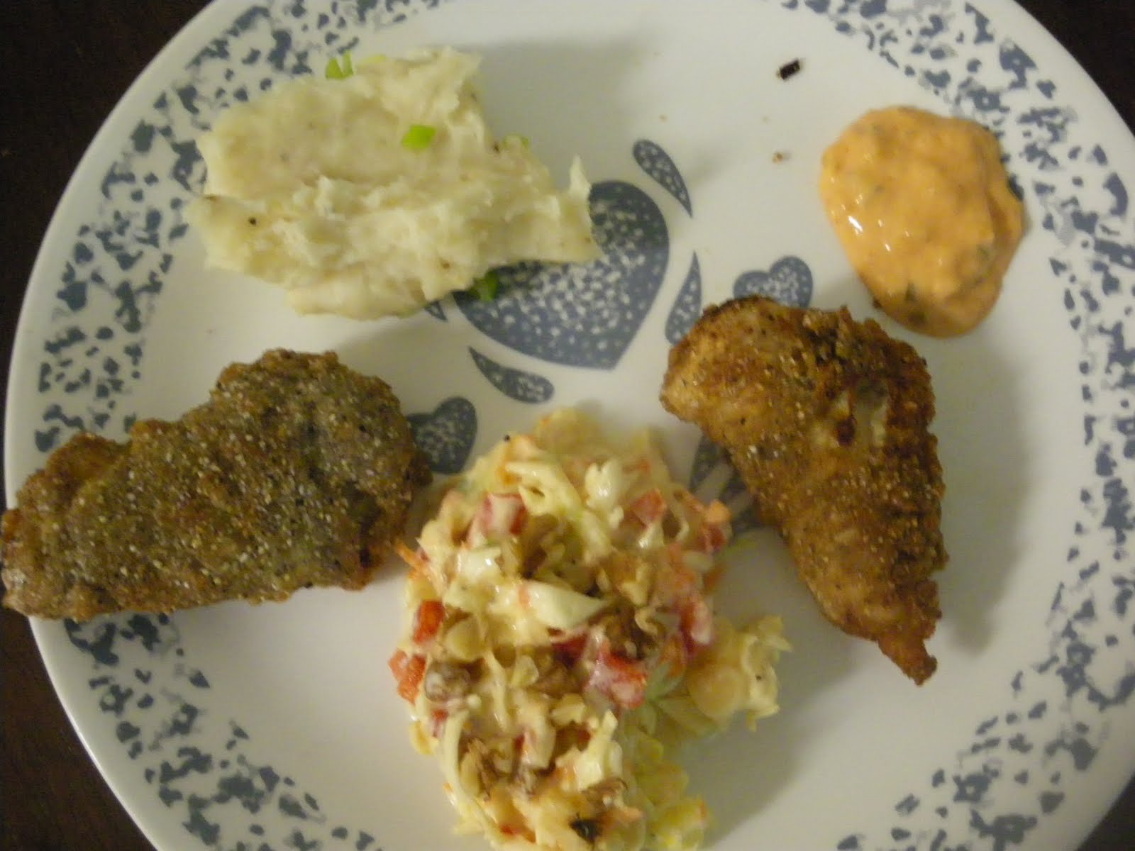 Mouth watering recipes from azeema 39 s kitchen fried fish for Fried fish dinner