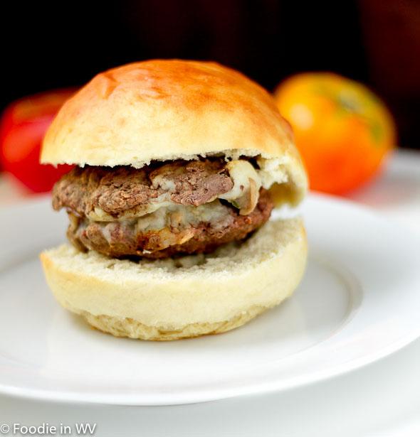 Mushroom Stuffed Cheeseburgers