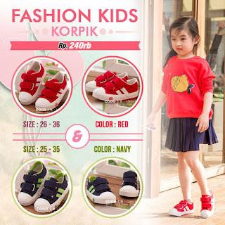 sepatu anak korea